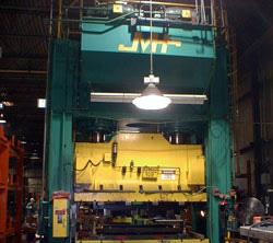 1250 Ton Pacific Hydraulic Straightside