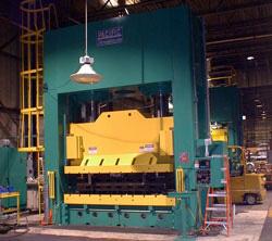 1400 Ton Pacific Hydraulic Straightside